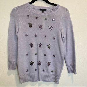 NWT!! J. Crew Embellished Sweater
